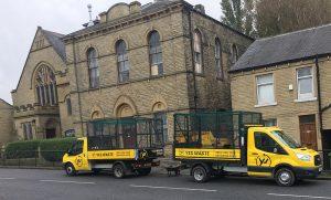 Church Huddersfield site clearance
