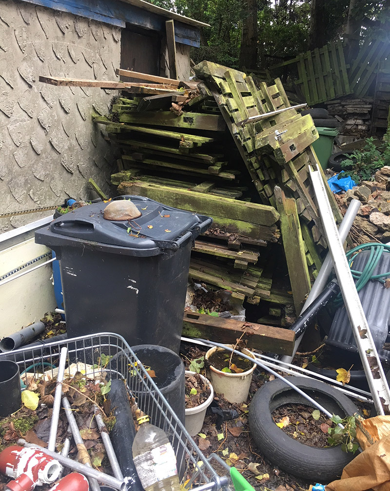 Church Huddersfield site clearance - commercial waste removal