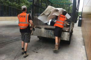 wait and load waste removal