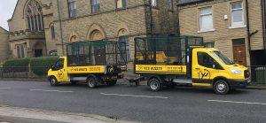 Leeds wait and load leeds rubbish removal vans