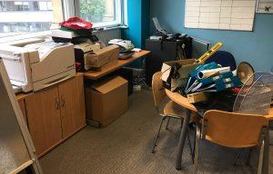 office clearance leeds items on a table