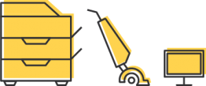 icon for construction waste removal hazardous waste items