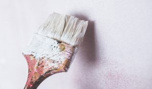 image of painting for DIY tips for house clearance and rubbish removal