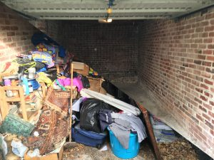 Before and After Garage Clearance in Sheffield