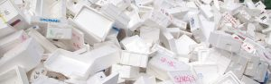 Polystyrene Recycling from Yes Waste in Wakefield Huddersfield and Leeds