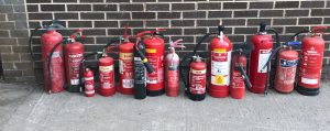 Yes Waste can collect expired Fire Extinguishers from your home or business in Yorkshire